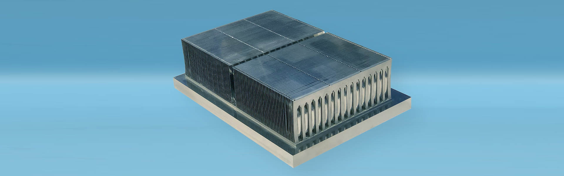 air cooled heat sink for RF technology
